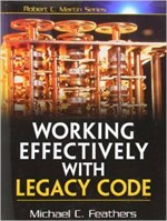Working effectively with legacy code book