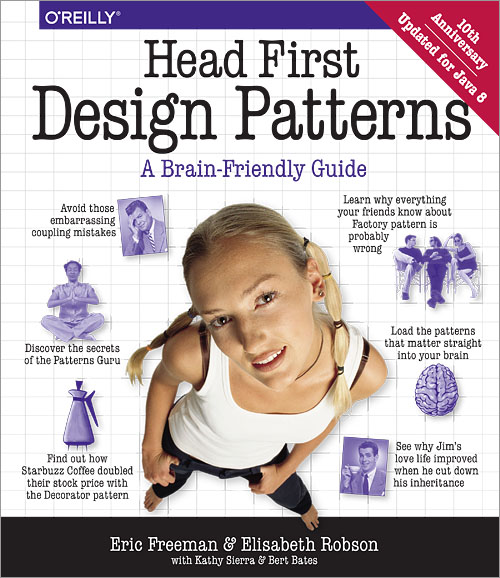 Couverture Head First Design Patterns